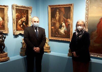 Η Πρέσβης της Αυστρίας κυρία Hermine Poppeller επισκέφθηκε το Μουσείο Φιλελληνισμού