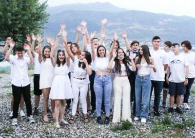 Σε κλίμα ενθουσιασμού η αποφοίτηση των μαθητών Γυμνασίου